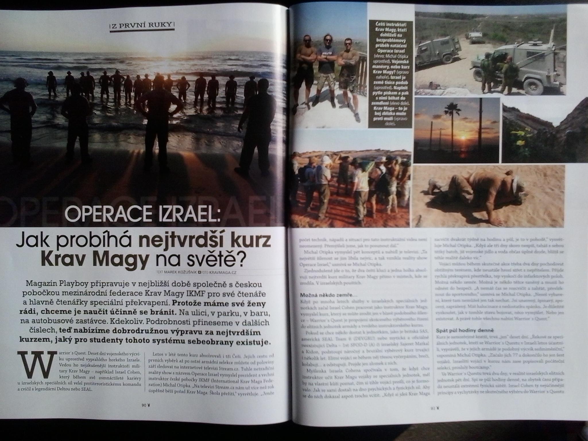 PS - TISK - Playboy mich - OPERACE IZRAEL REP DET