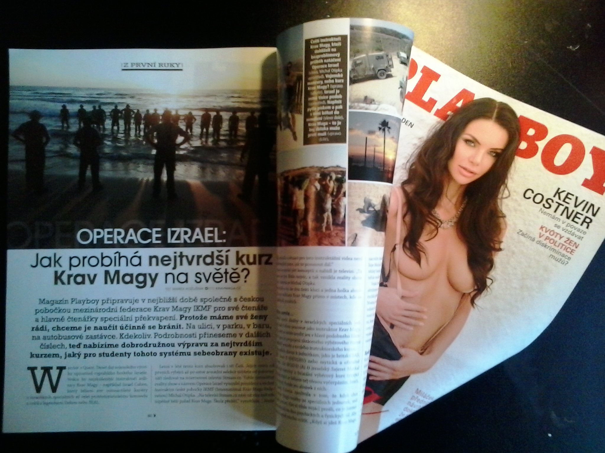 PS - TISK - Playboy mich - OPERACE IZRAEL REP
