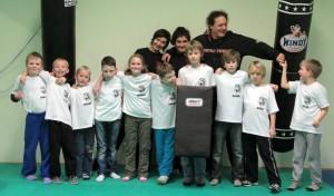 Krav Maga - testování dětí 8 - 10 let