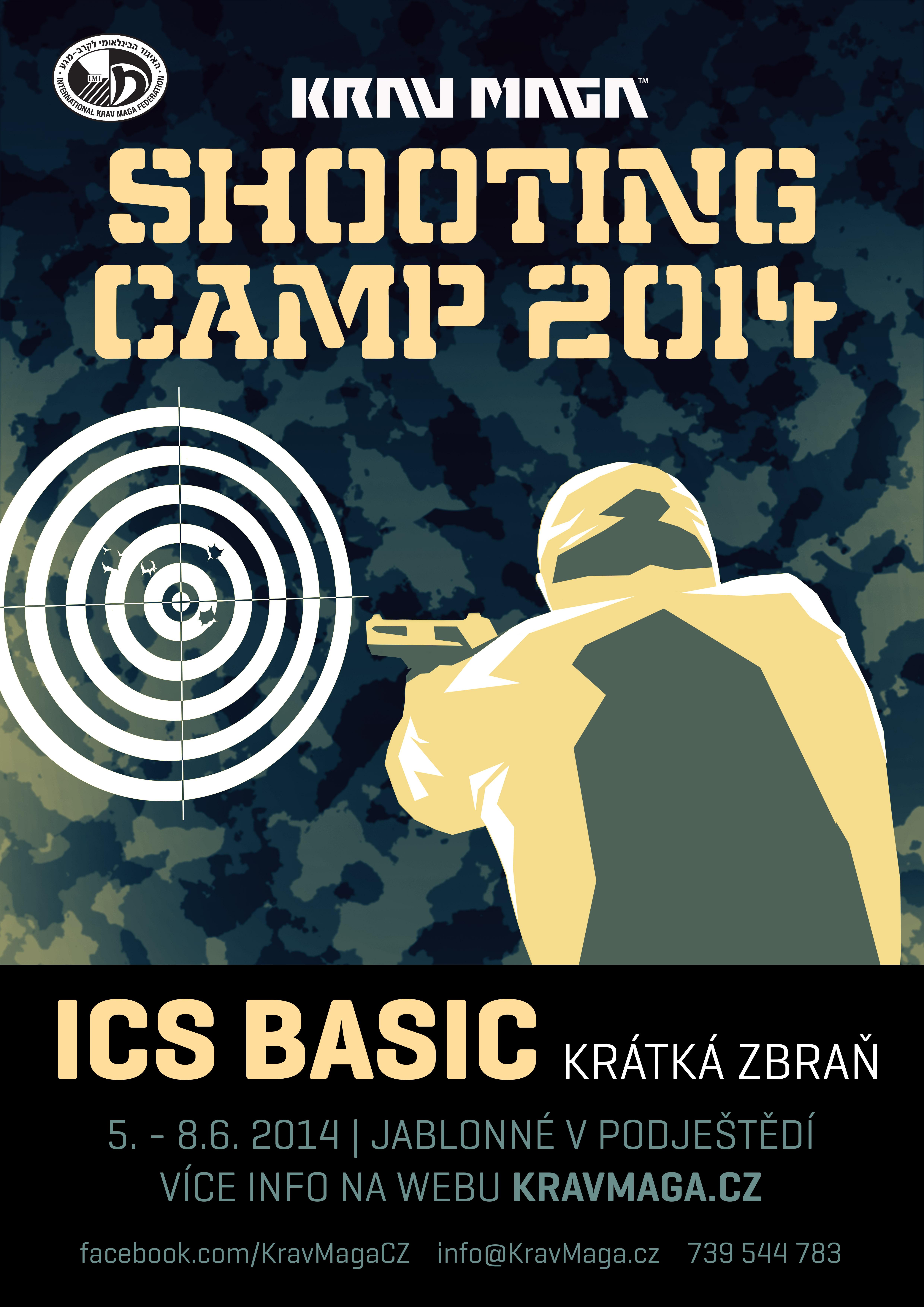 VIZUÁL Shooting camp ICS Basic krátká zbraň FINAL