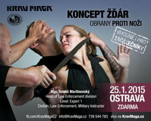 VIZUÁL B. Krav maga seminář KONCEPT ŹDÁR Ostrava 2015
